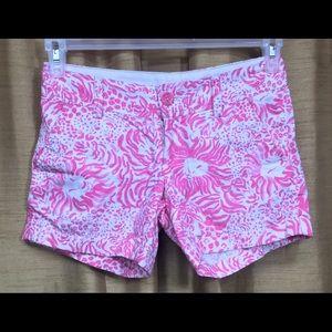Lily Pulitzer Pink Callahan Shorts